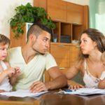 С кем останутся дети после развода?